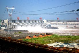 Kina Dam three gortges