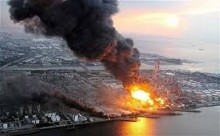 Fukushima Fier in the OIL