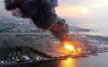 Fukushima Fier in the OIL