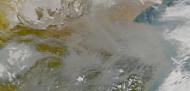 Air pollution China - Far beyond the sea